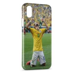 Coque iPhone X & XS Brésil Football