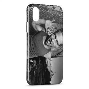 Coque iPhone X & XS Brad Pitt Fight Club