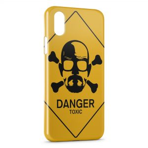 Coque iPhone X & XS Breaking Bad Danger Toxic