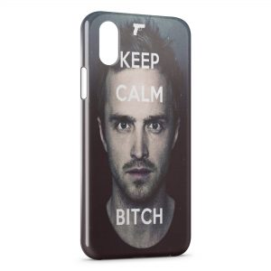 Coque iPhone X & XS Breaking Bad Keep Calm Bitch