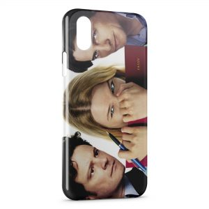 Coque iPhone X & XS Bridget Jonet Renée Zellweger Hugh Grant Colin Firth