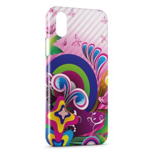 Coque iPhone X & XS Butterflies Paradise