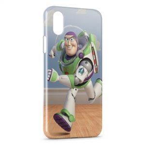 Coque iPhone X & XS Buzz l'éclair Toy Story 2