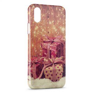 Coque iPhone X & XS Cadeaux Noel
