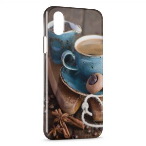 Coque iPhone X & XS Café