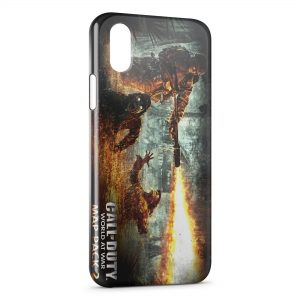 Coque iPhone X & XS Call Of Duty World At War