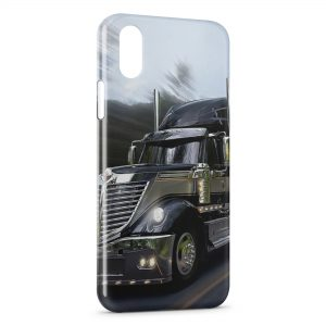 Coque iPhone X & XS Camion Style 3
