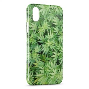 Coque iPhone X & XS Cannabis Weed