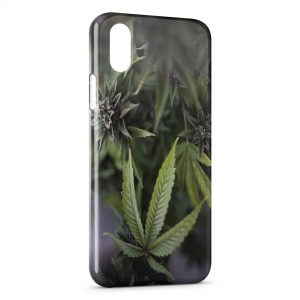Coque iPhone X & XS Cannabis Weed 2