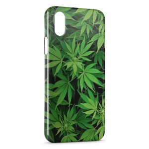 Coque iPhone X & XS Cannabis Weed 3
