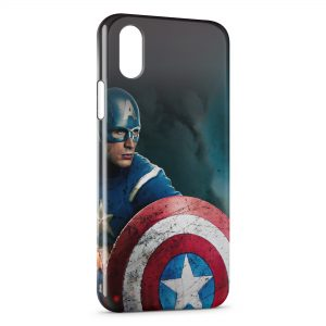 Coque iPhone X & XS Captain America 4