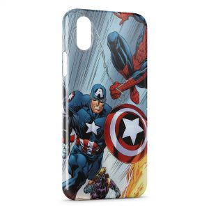 Coque iPhone X & XS Captain America 5
