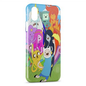 Coque iPhone X & XS Cartoon Color