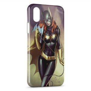 Coque iPhone X & XS Catwoman Art