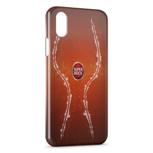 Coque iPhone X & XS Cerveja Bière Super Bock Portugal