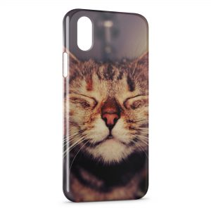 Coque iPhone X & XS Chat Mignon 3