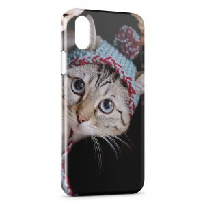 Coque iPhone X & XS Chat Mignon 4