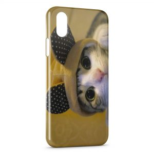 Coque iPhone X & XS Chaton
