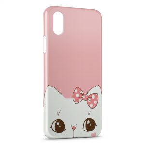 Coque iPhone X & XS Chaton Mignon