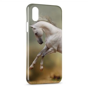 Coque iPhone X & XS Cheval