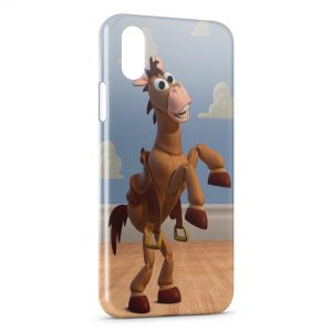 Coque iPhone X & XS Cheval Toy Story
