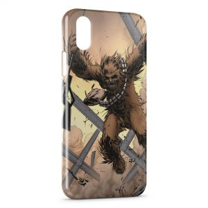 Coque iPhone X & XS Chewbacca Star Wars 2