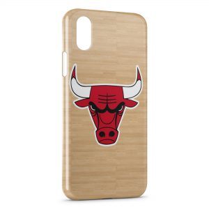 Coque iPhone X & XS Chicago Bulls Basketball