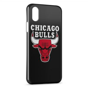 Coque iPhone X & XS Chicago Bulls Basketball 2