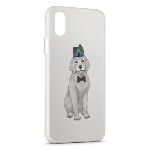 Coque iPhone X & XS Chien Style Design