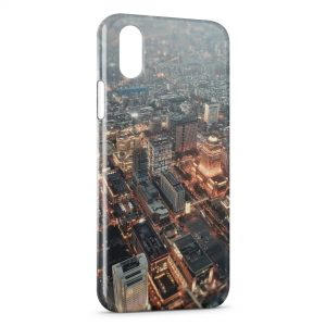 Coque iPhone X & XS City
