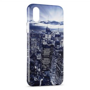 Coque iPhone X & XS City & the Sky