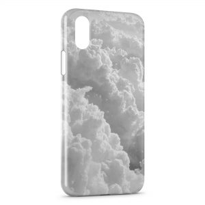 Coque iPhone X & XS Cloud Nuages 2