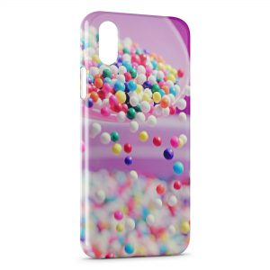 Coque iPhone X & XS Colorful Candy Ball