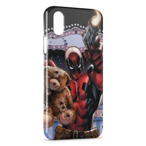 Coque iPhone X & XS Comics & Ourson