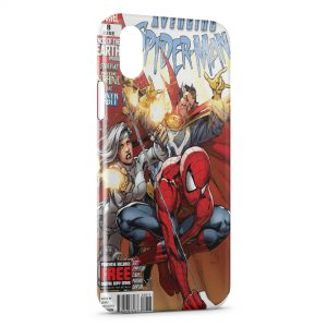Coque iPhone X & XS Comics Spiderman 2