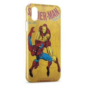 Coque iPhone X & XS Comics Spiderman 3