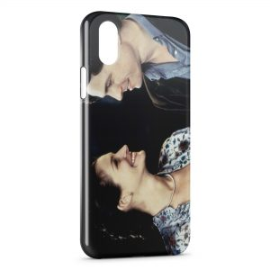 Coque iPhone X & XS Coup de foudre à Notting Hill Hugh Grant Julia Roberts