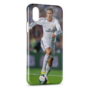 Coque iPhone X & XS Cristiano Ronaldo Football 22