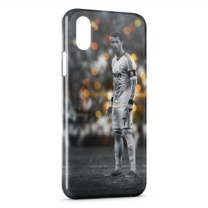 Coque iPhone X & XS Cristiano Ronaldo Football 23