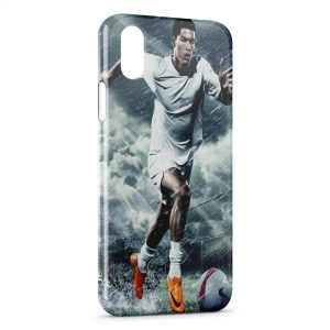 Coque iPhone X & XS Cristiano Ronaldo Football 24