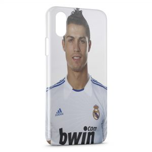 Coque iPhone X & XS Cristiano Ronaldo Football 41