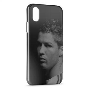 Coque iPhone X & XS Cristiano Ronaldo Football 55