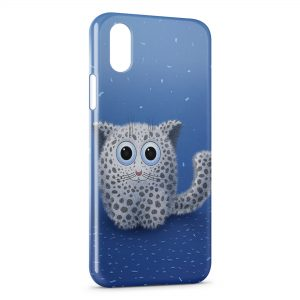 Coque iPhone X & XS Cute Cat