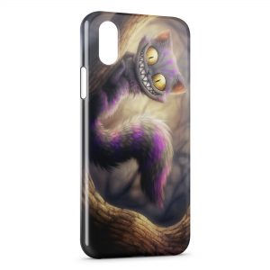 Coque iPhone X & XS Cute Cat Monster Manga