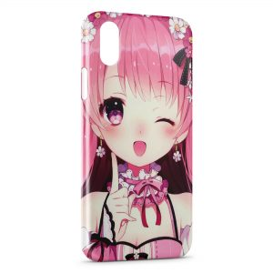 Coque iPhone X & XS Cute Girl Manga