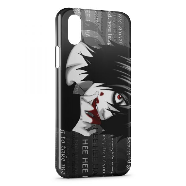 Coque iPhone X & XS Death Note 2