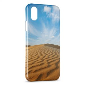 Coque iPhone X & XS Desert Paysage