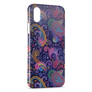 Coque iPhone X & XS Design Indien Style 6