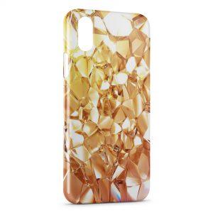 Coque iPhone X & XS Diamants Design