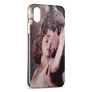 Coque iPhone X & XS Dirty Dancing Bébé et Johnny